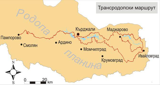 Трансродопский велосипедный маршрут