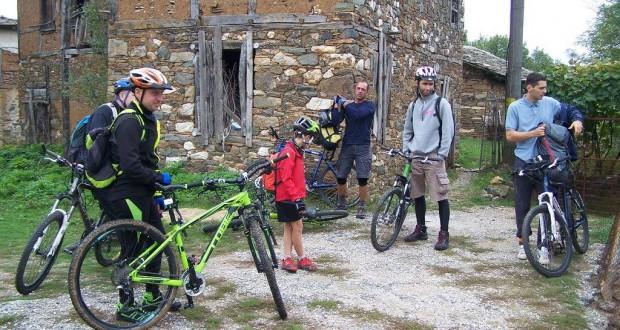 Велосипедисты в Родопах