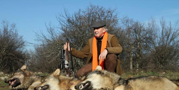 Лютви Местан и убитые им волки