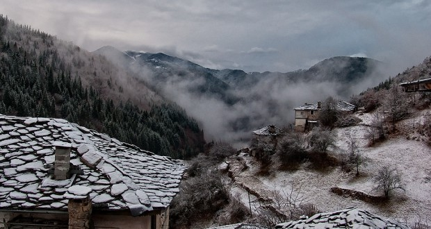 Зима в Родопах