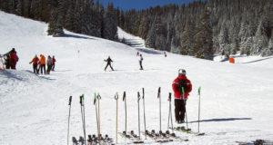 Пампорово катание на лыжах